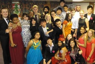 my international family a mixture of cultures