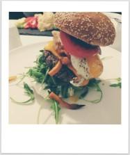 Veggie burger: yummy