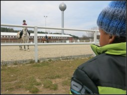 Horse riding centre.