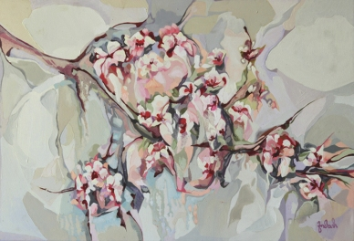-almond blossom- -AROMA- series by Leda Theo for web